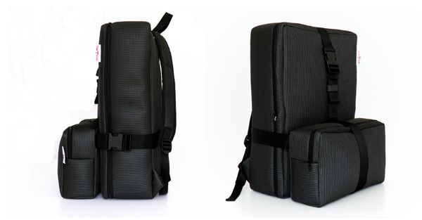 11ca05ae06 SO-NO-RO-A modular backpack for ADDAC System by YUKI bags