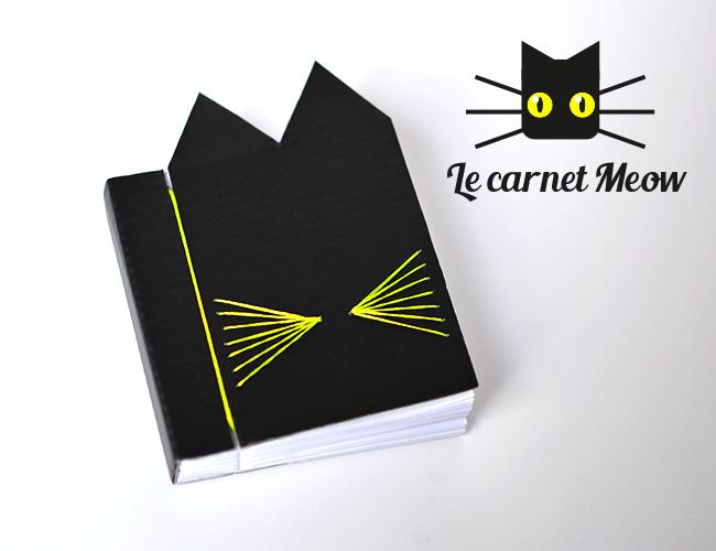 Le Carnet Meow (DIY + free Printable)