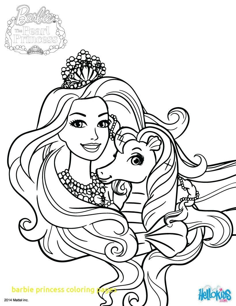 Barbie Princess Coloring Page Through The Thousand Images On The Net In Relation To Barbie Mermaid Coloring Pages Barbie Coloring Pages Horse Coloring Pages