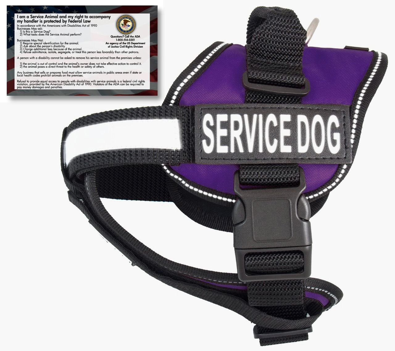 Properly identifying your Service Dog with this