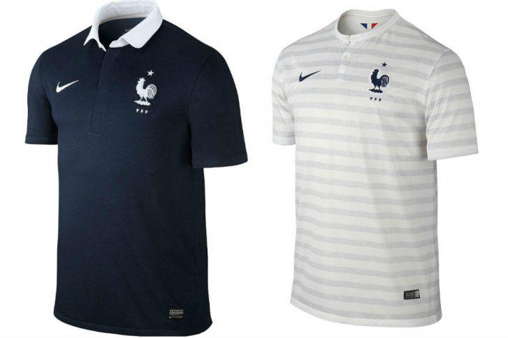 Uniforme França Copa do Mundo 2014
