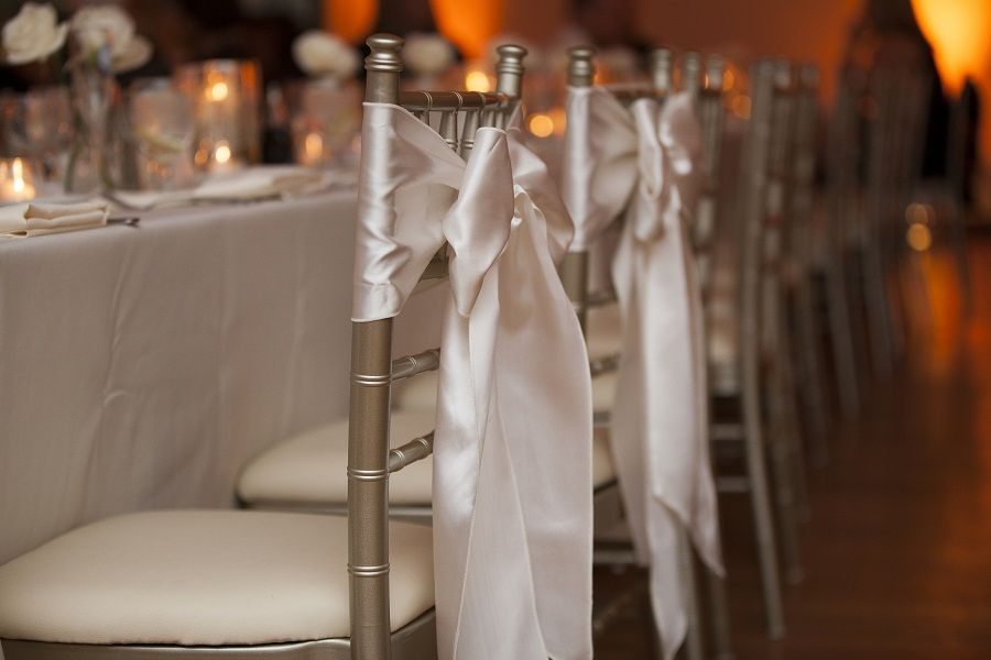 Chiavari Chairs with Ribbons - 3-9-13 - Kimbler Reception - Shelby Street Photography