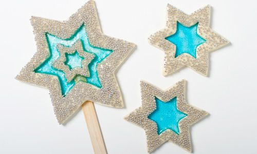 Recipe for stained glass christmas cookies