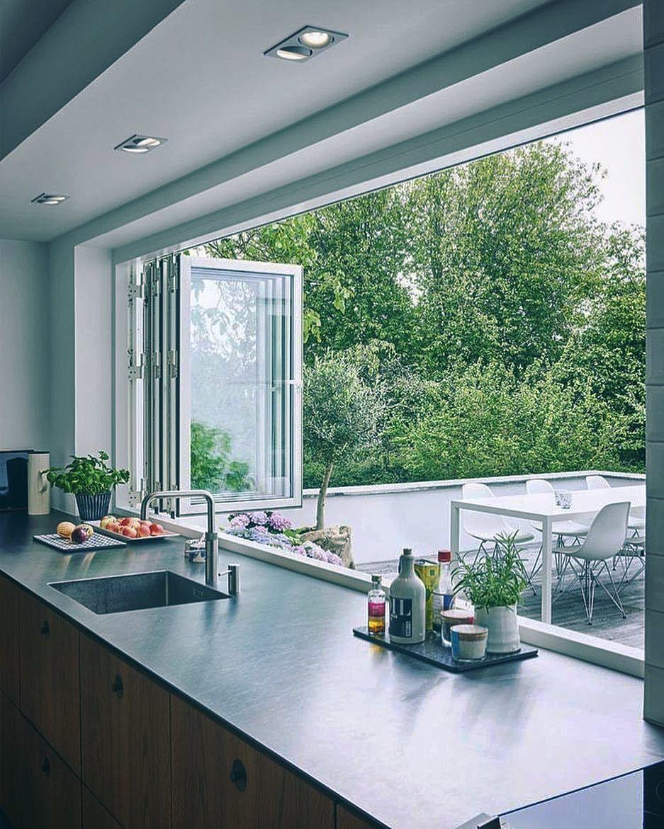 No window kitchen sink  pin by andreia nascimento on cozinha  pinterest  house interiors