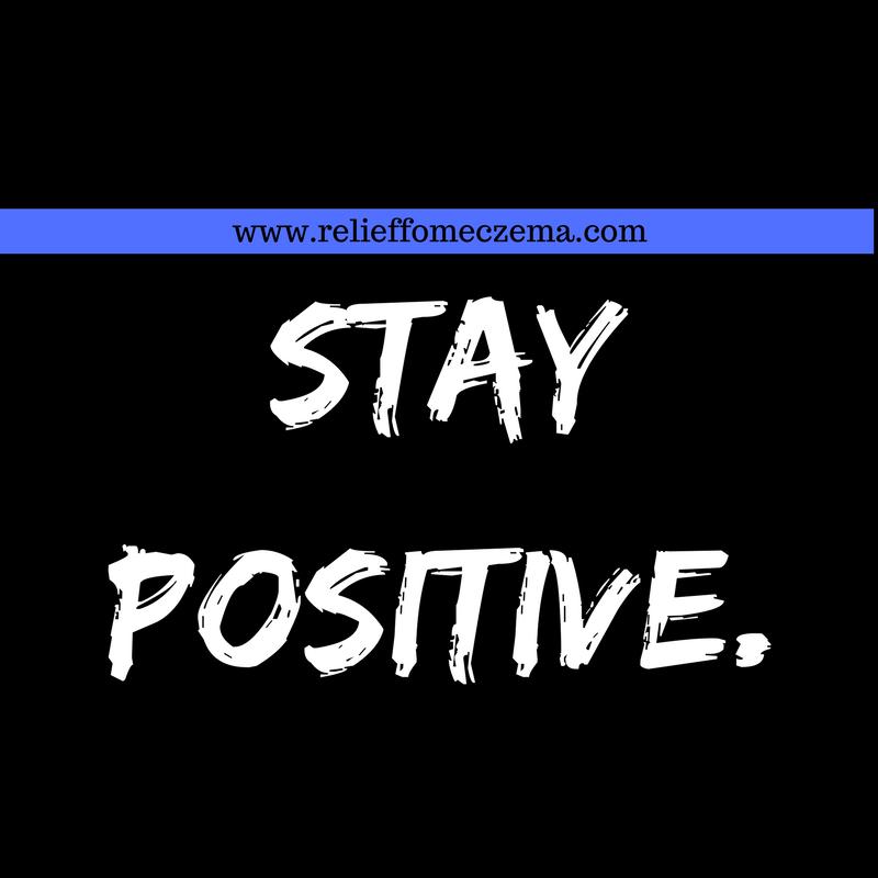Stay Positive #eczema #winter #school #holiday #2017 #fashion #art
