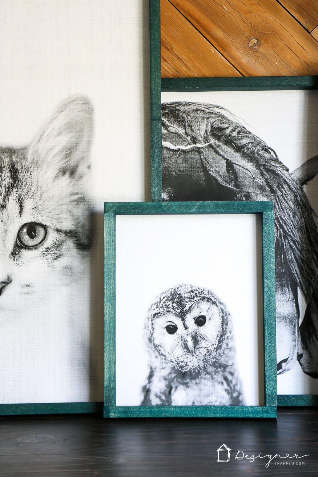 Diy large wall art on a budget pinterest diy art tutorials and