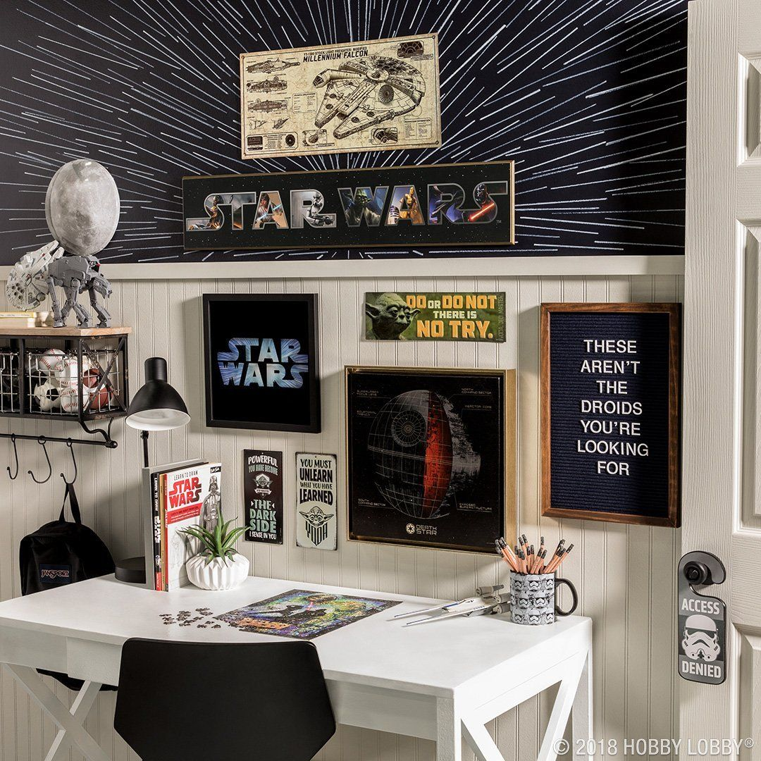 The Force Is Strong With This Space. For Your Favorite