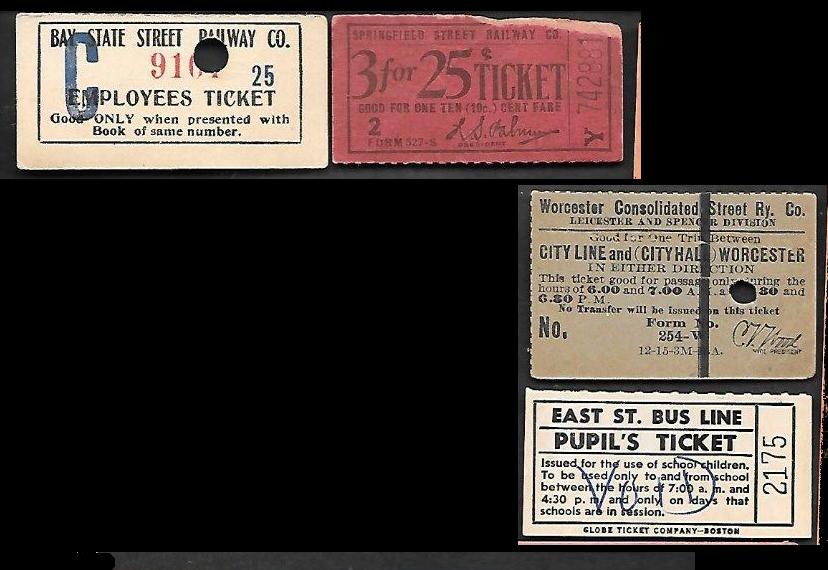 Mixed Massachusetts tickets