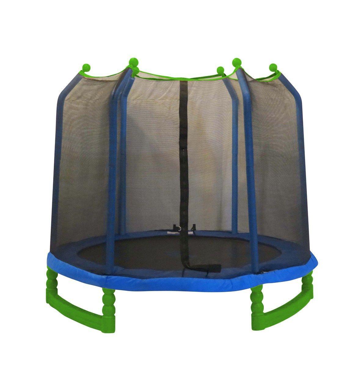 7ft indooroutdoor classic trampoline enclosure set