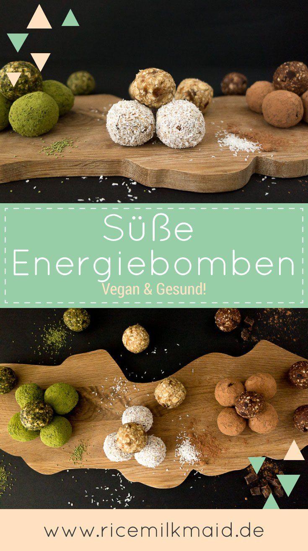 Photo of Vegane Energiebomben aus 3 einfachen Zutaten – ricemilkmaid