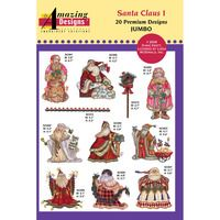 Santa Claus I Embroidery Designs