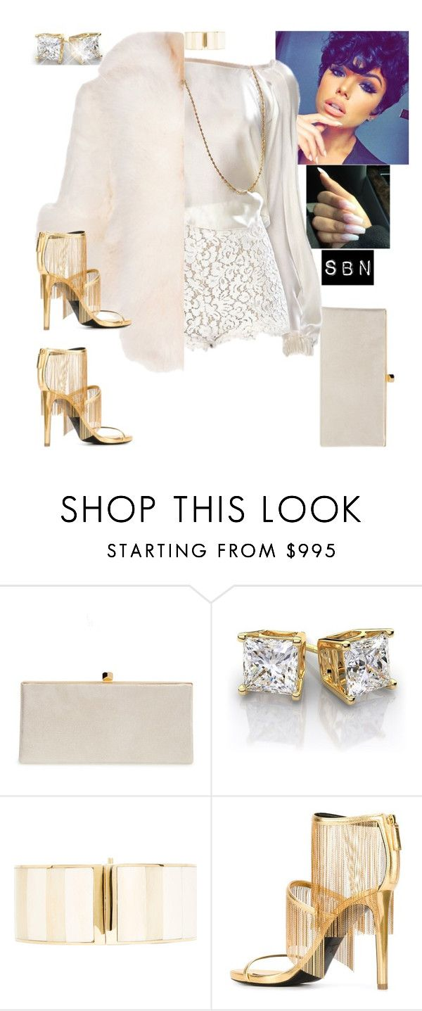 """""""Untitled."""" by styledbynineaux ❤ liked on Polyvore featuring Jimmy Choo, Balmain and Roberto Cavalli"""