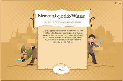 Elemental Querido Watson Ortografía Divertida Juego Online Para Practicar La Ortografía Con La Pareja De D Juegos Ortografia Ortografía Reglas De Acentuación