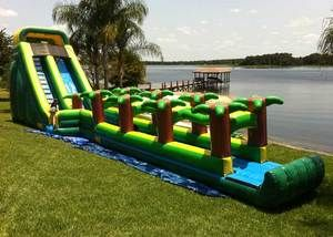 Bounce House And Water Slide Rentals Plus More In Jacksonville Fl And Surrounding Areas F Water Slide Bounce House Inflatable Bounce House Water Slide Rentals