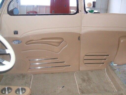 1937 Ford Custom Door Panels Panel Doors Custom Door Ford Hot Rod