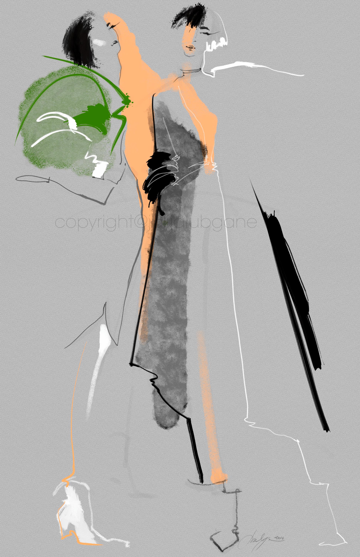 These Illustrations Were Inspired By 2016 Fashion Week I Illustrate On Wacom Cintiq Tablet Using Custom Pencils A Illyustracii Modnye Illyustracii Modnye Eskizy