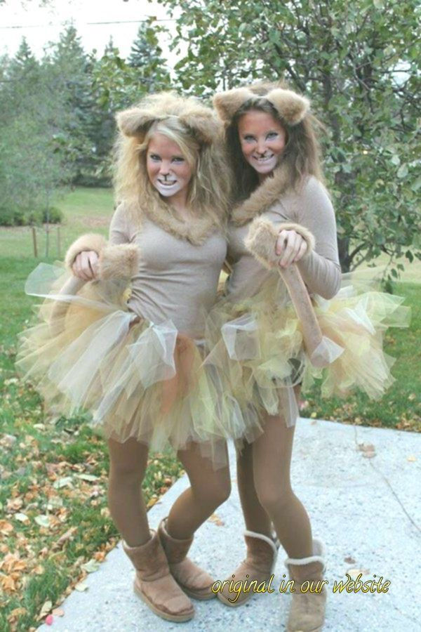 Karneval Kostüm Damen 2019-karneval kostüm selber machen löwe#carnaval #women... #déguisementsdhalloweenfaitsmain