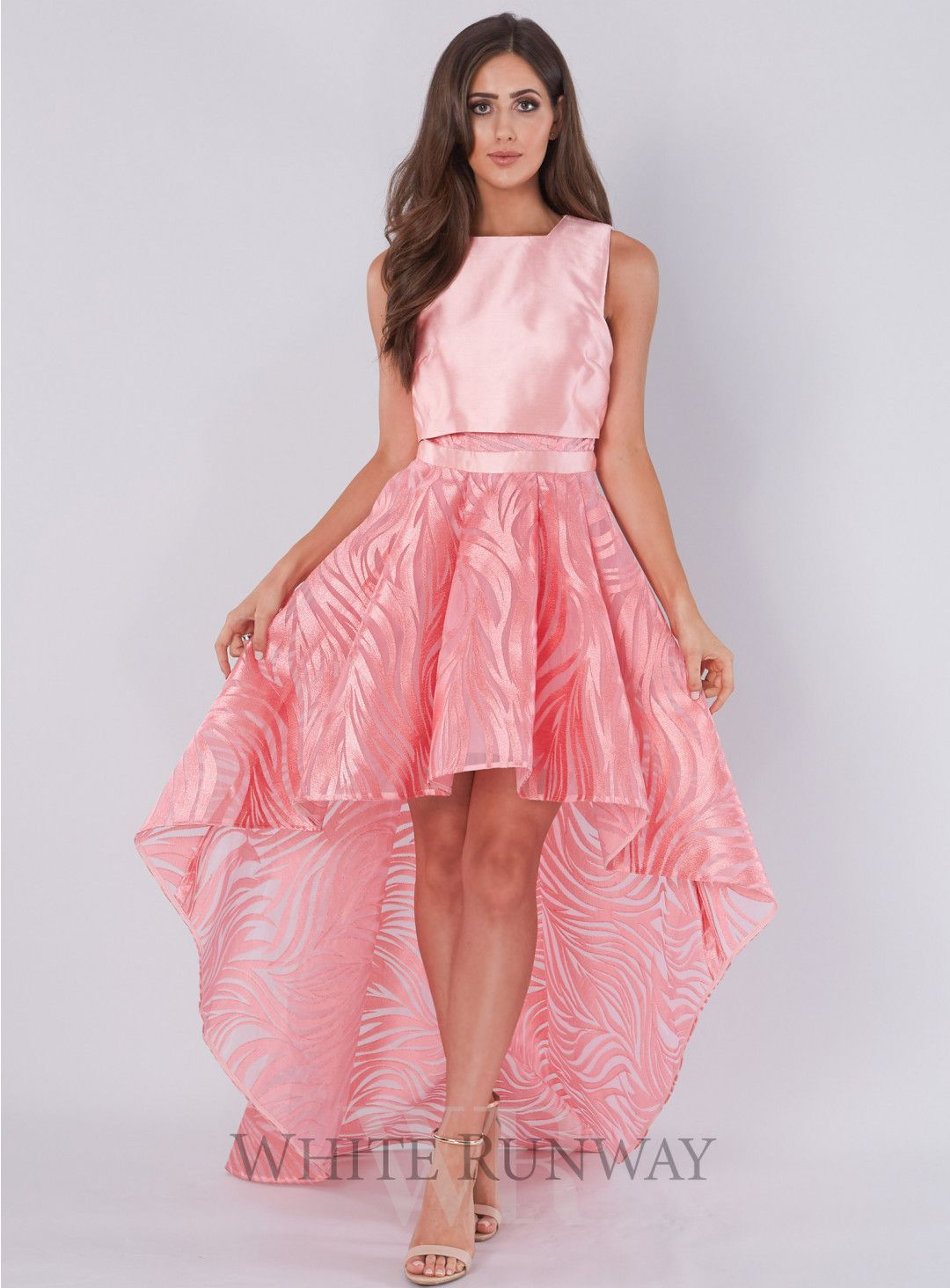 Candy Queen Dress. A striking hi-lo dress by Asilio. Fitted bodice ...
