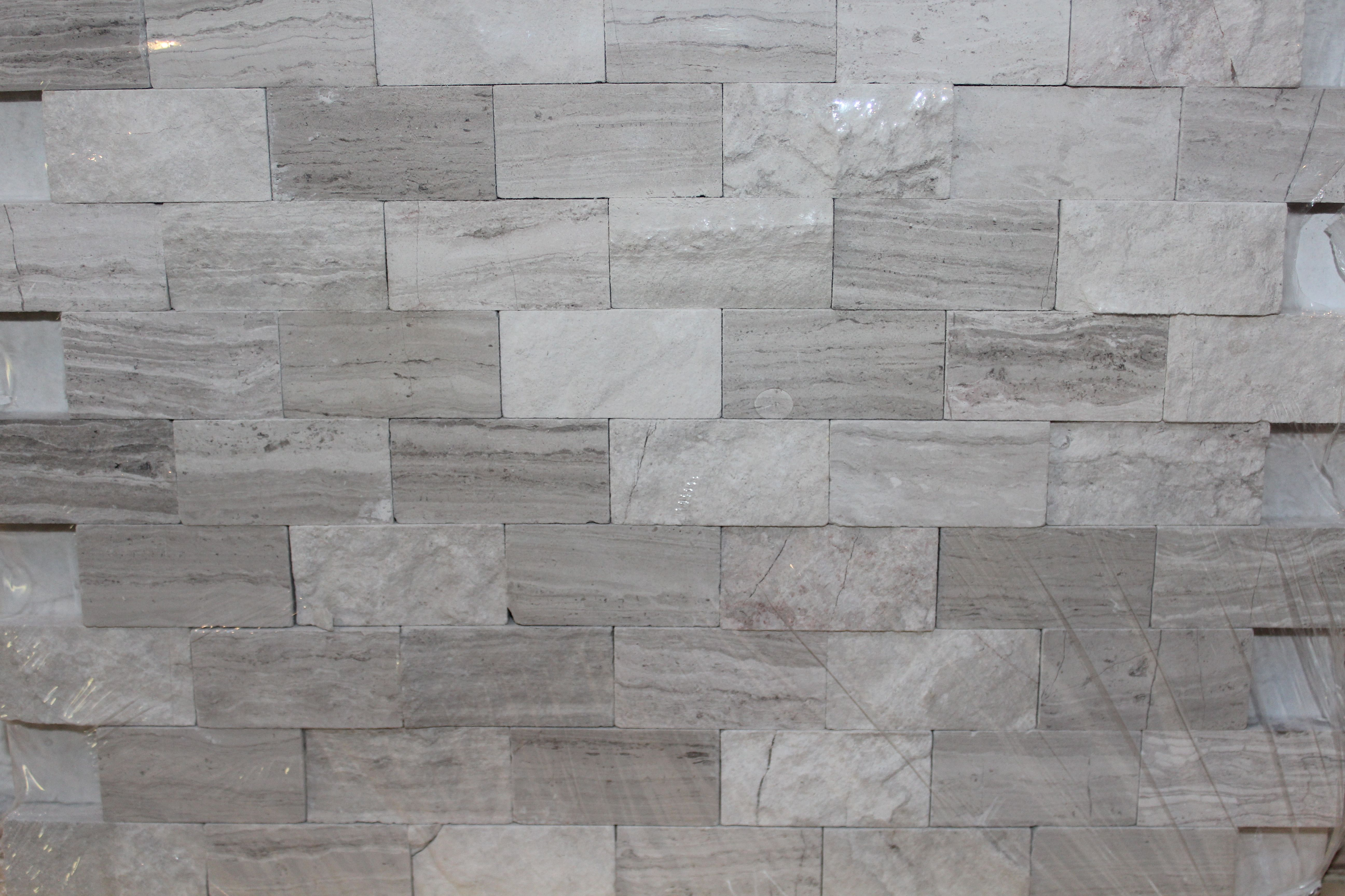 Gray Stone Wall : Cci in grey marble split face natural stone