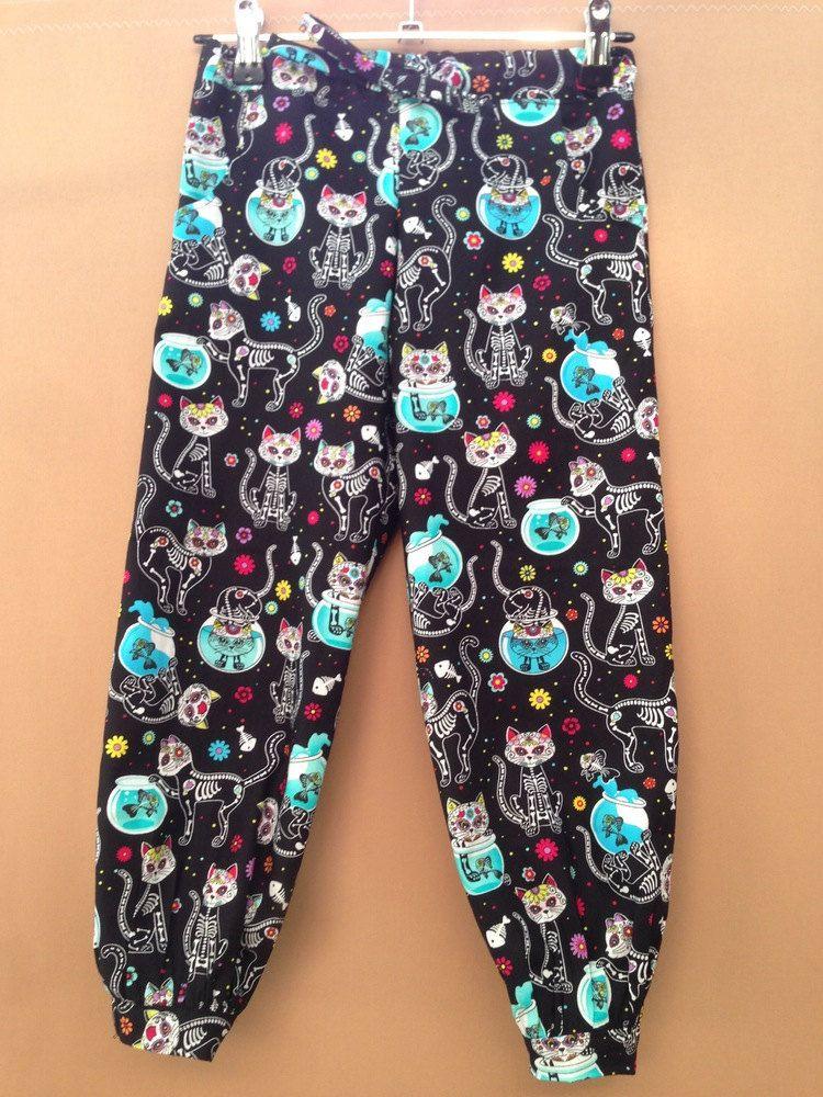 Dead kitty harem style pants by KodgeKraft on Etsy