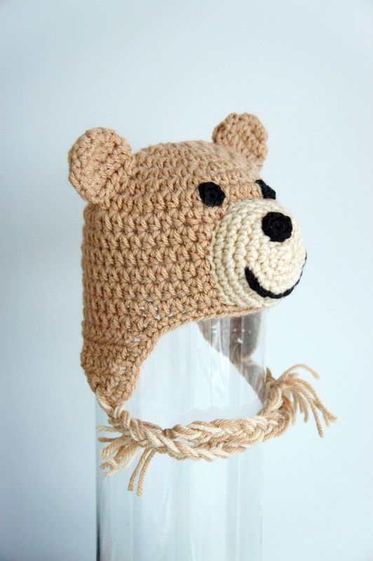 This ad is for ONE brown teddy bear hat inspired from the movie Ted e2143c05a846
