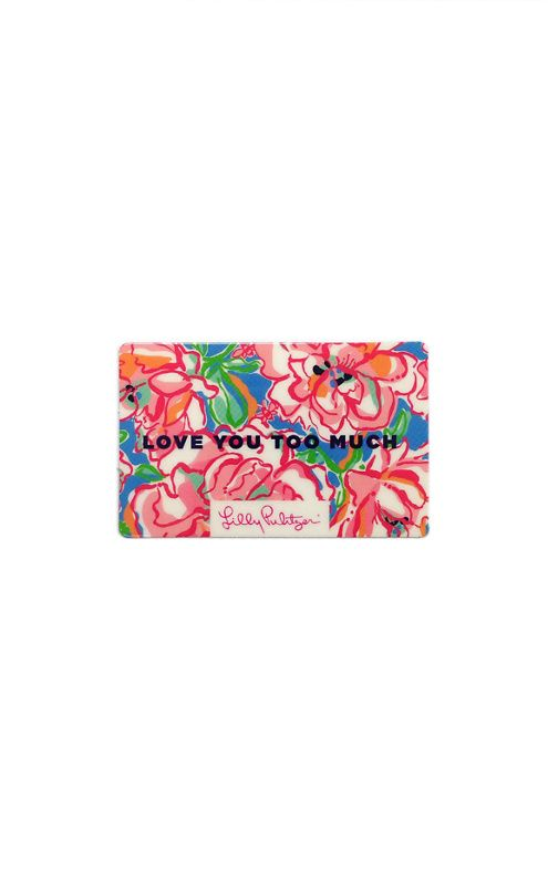 Gift Card- Lilly Pulitzer | graduation goodies | Pinterest | Gift ...
