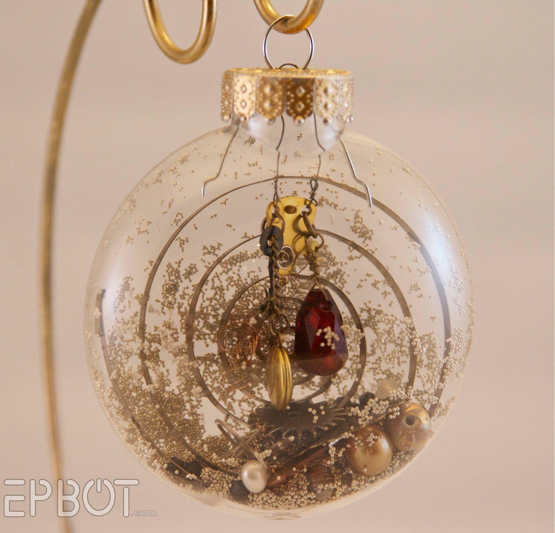 Steampunk Ornaments  Epbot: Inspiration File: Steampunk Christmas Ornaments !