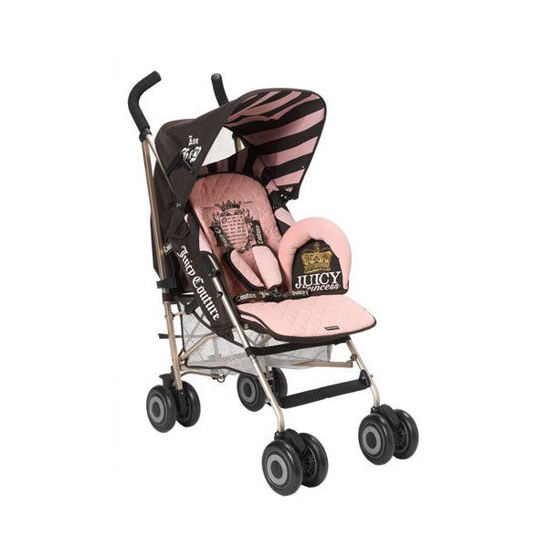 Juicy Couture By Maclaren Stroller 450 Liked On Polyvore Featuring Baby Accessories Kids Daughter Babies An Maclaren Stroller Stroller Baby Accessories