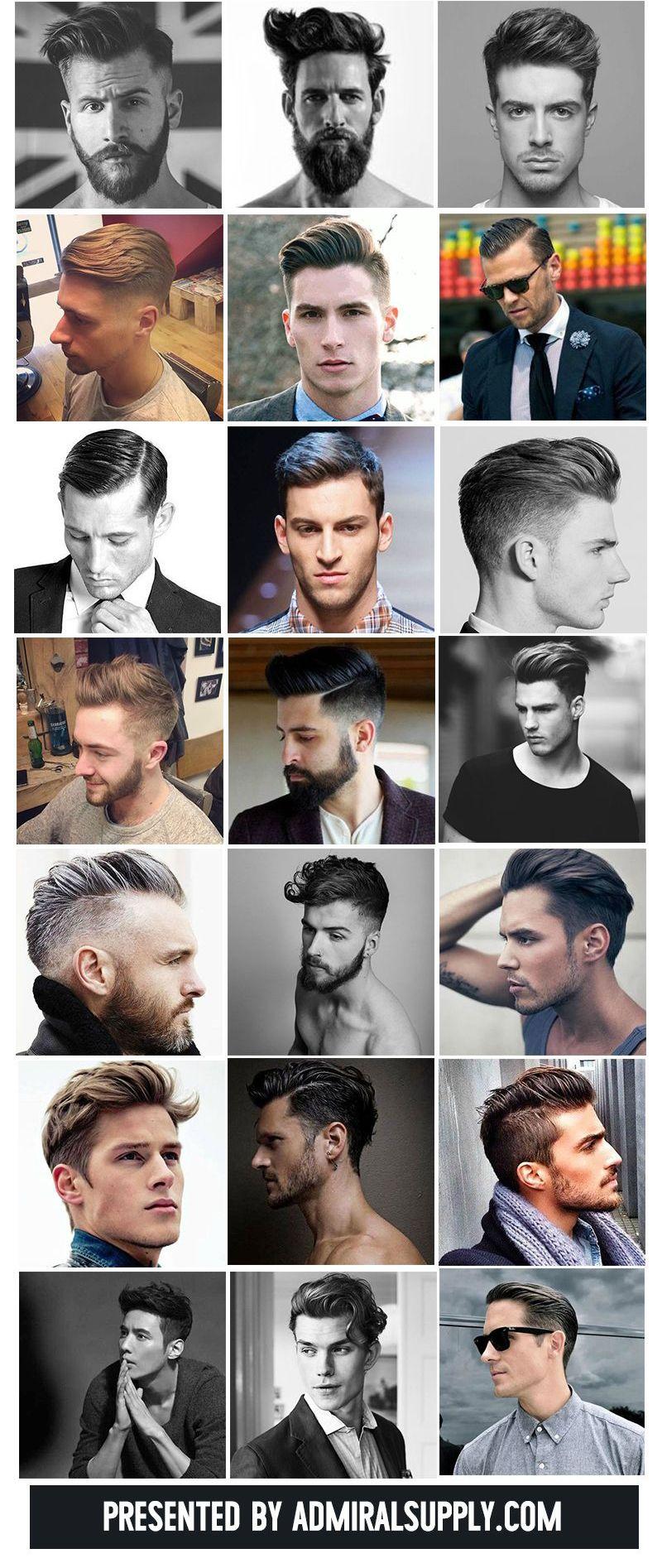 Men haircut style バーバー系の刈り上げヘアスタイル特集  hair style haircuts and