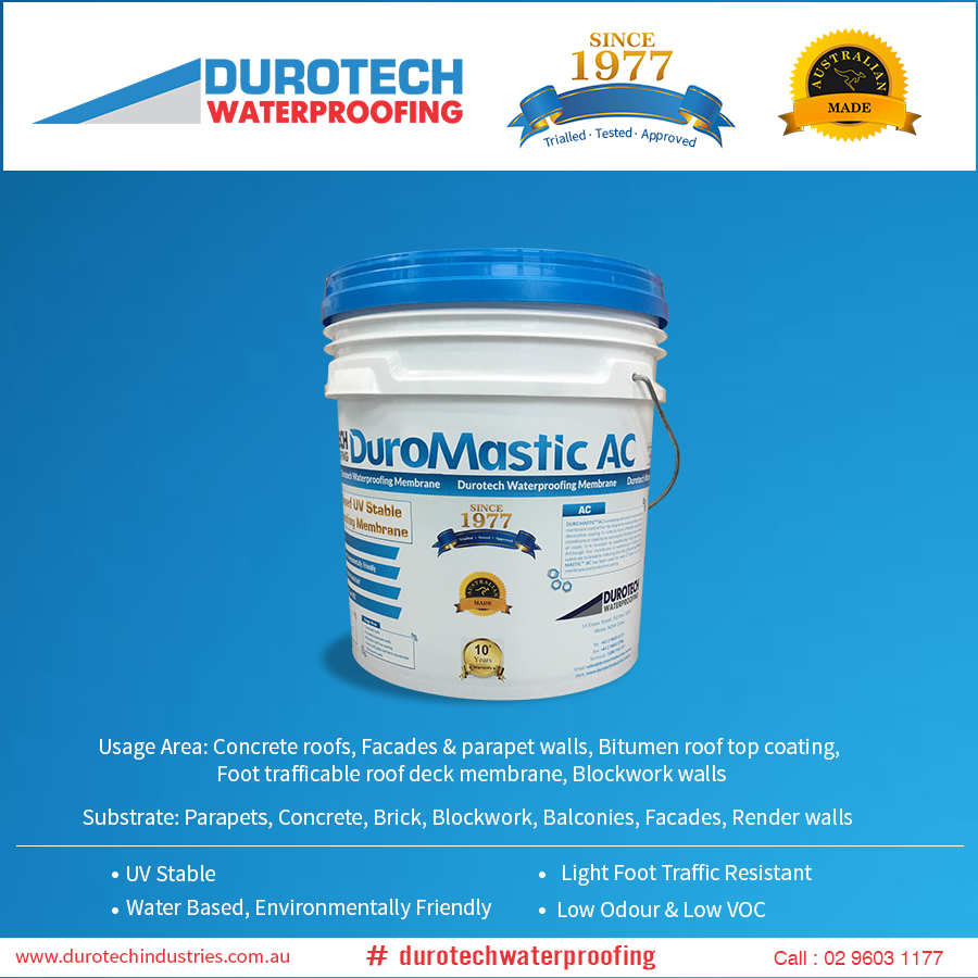 Use An Easy To Maintain Environment Friendly Seamless Coating Of Waterproofing Membrane Duromasticac On Your Concrete Parapet Concrete Roof Bitumen Roof