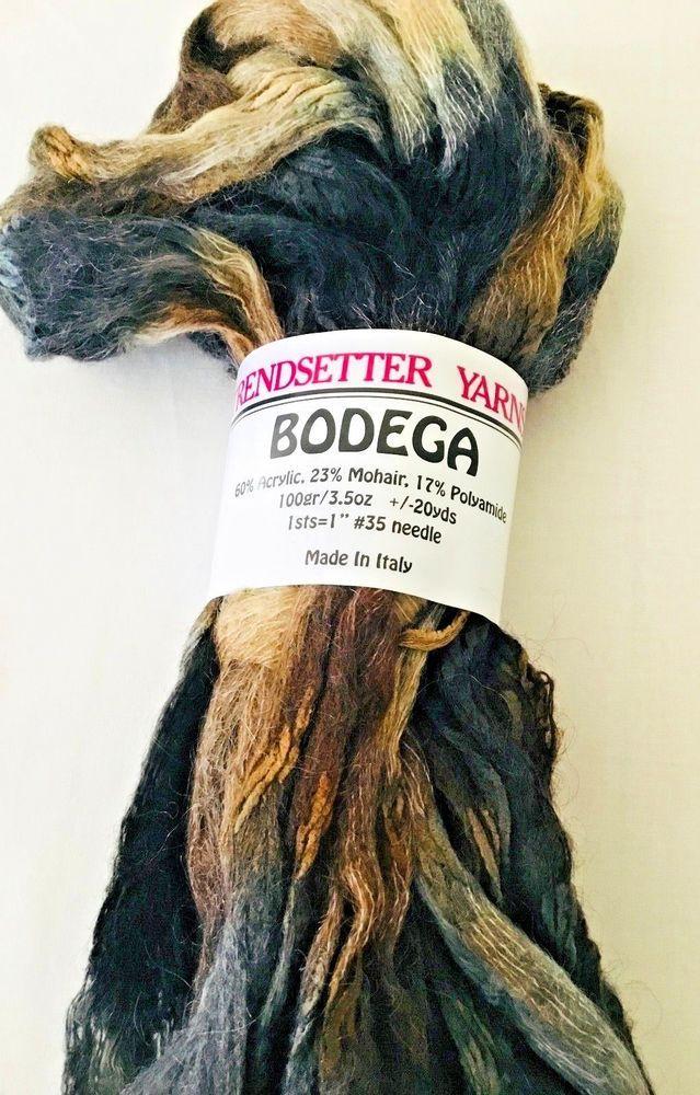 Trendsetter Yarns Bodega super bulky weight ruffle yarn