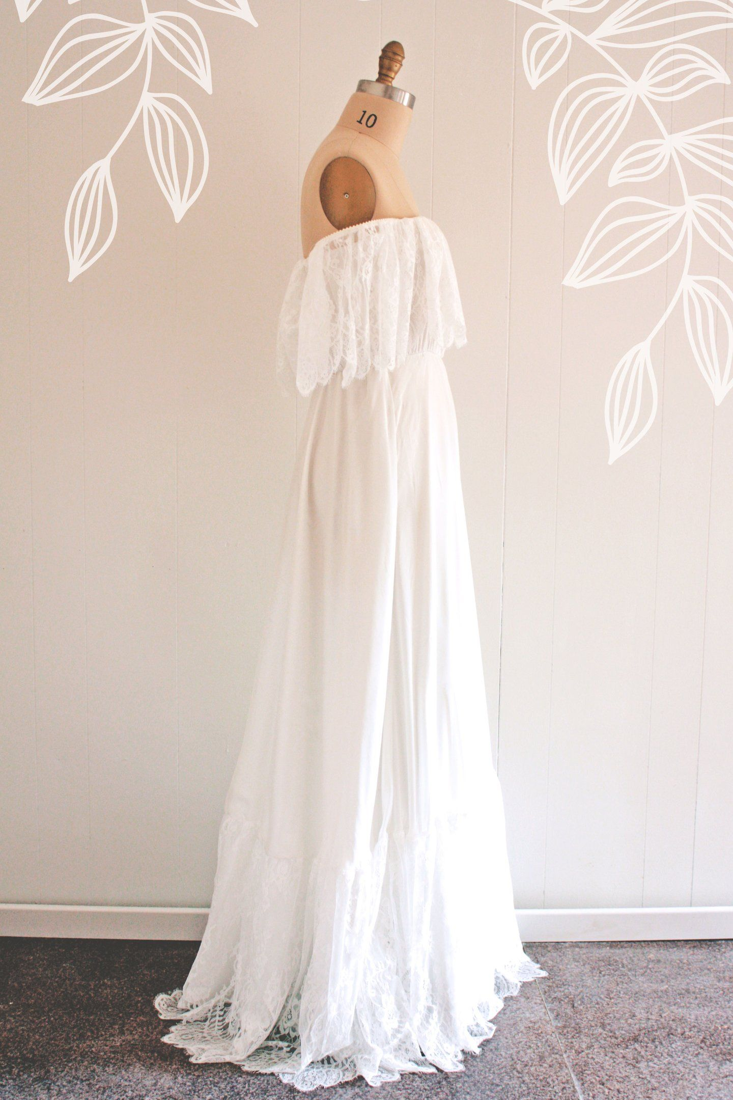 Claudine wedding pinterest hippy wedding dresses hippie