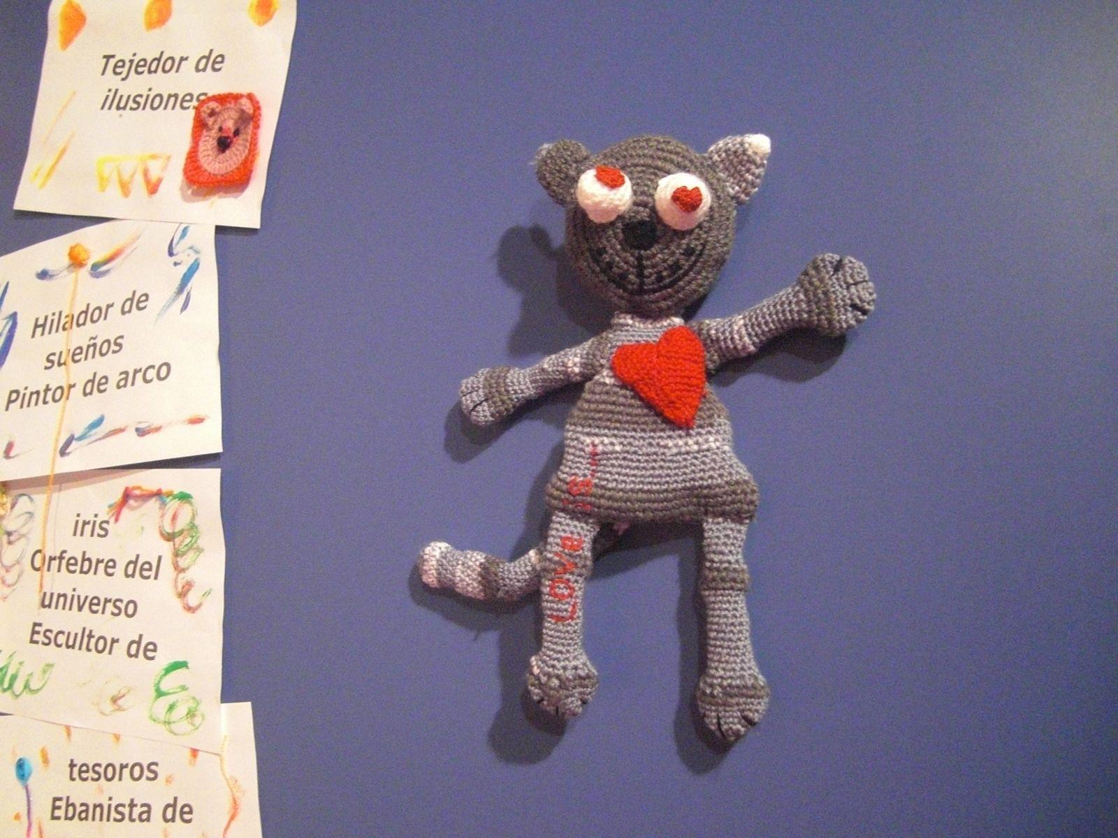 Gato enamorado- Gracias al blog handmade39.ru
