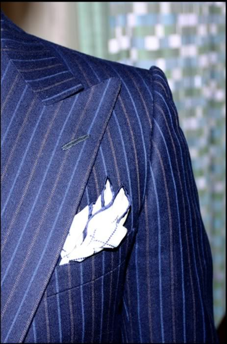 killer jacket, killer lapels, and the pocket square adds a perfect touch