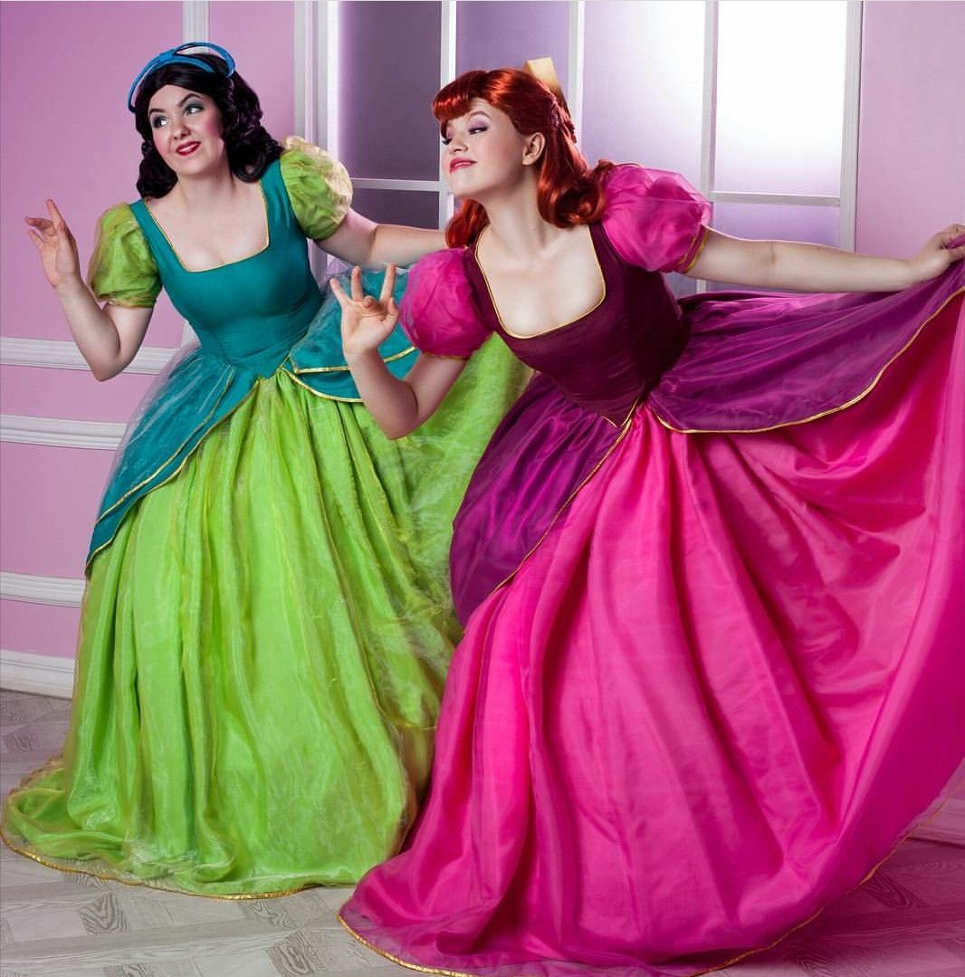 Evil step sisters costume  sc 1 st  Pinterest & Evil step sisters costume | Costumes u2022 Cosplay | Pinterest | Sister ...
