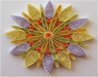 اعمال يدوية طريقة عمل لوحة فنية بالورق الملون Colored Paper Art Works Art