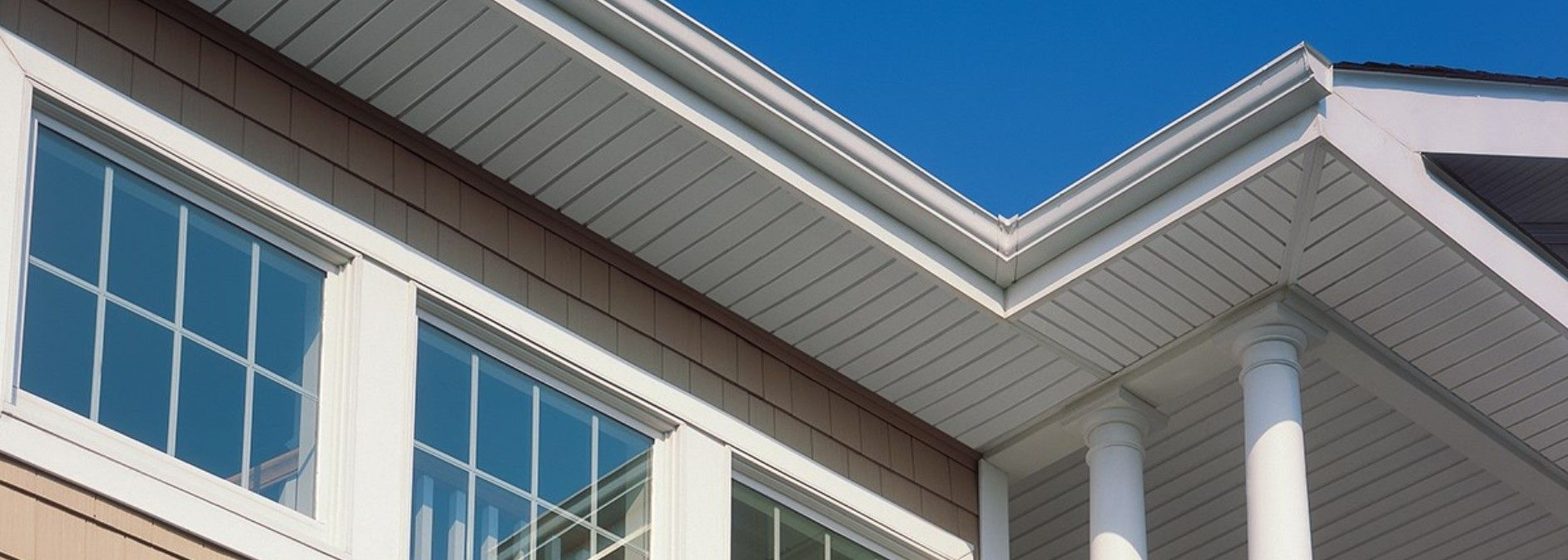 Vinyl Soffits Provide The Air Intake Needed For Proper Air Flow In Attics And For Controlled Temperatures Indoors Soffits Siding Vinyl Soffit Exterior Siding