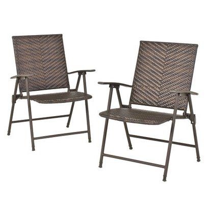 Fold Up Patio Chairs. Fold Patio Chairs Threshold Rolston 2piece Wicker Folding  Chair Porches Front - Fold Up Patio Chairs. Fold Patio Chairs Portable Ostrich Lawn