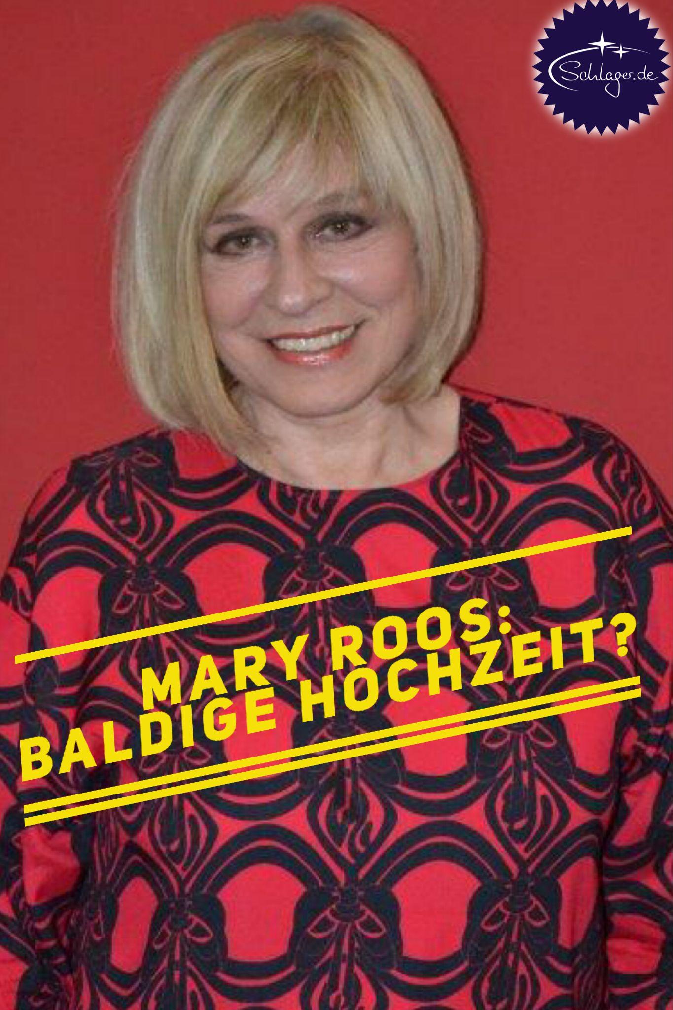 Mary Roos Plotzlich Spricht Sie Von Hochzeit Mit Bildern