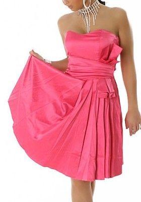 50er jahre kleid abendkleid cocktailkleid pink neu gr36 € 3690  modestil abendkleid