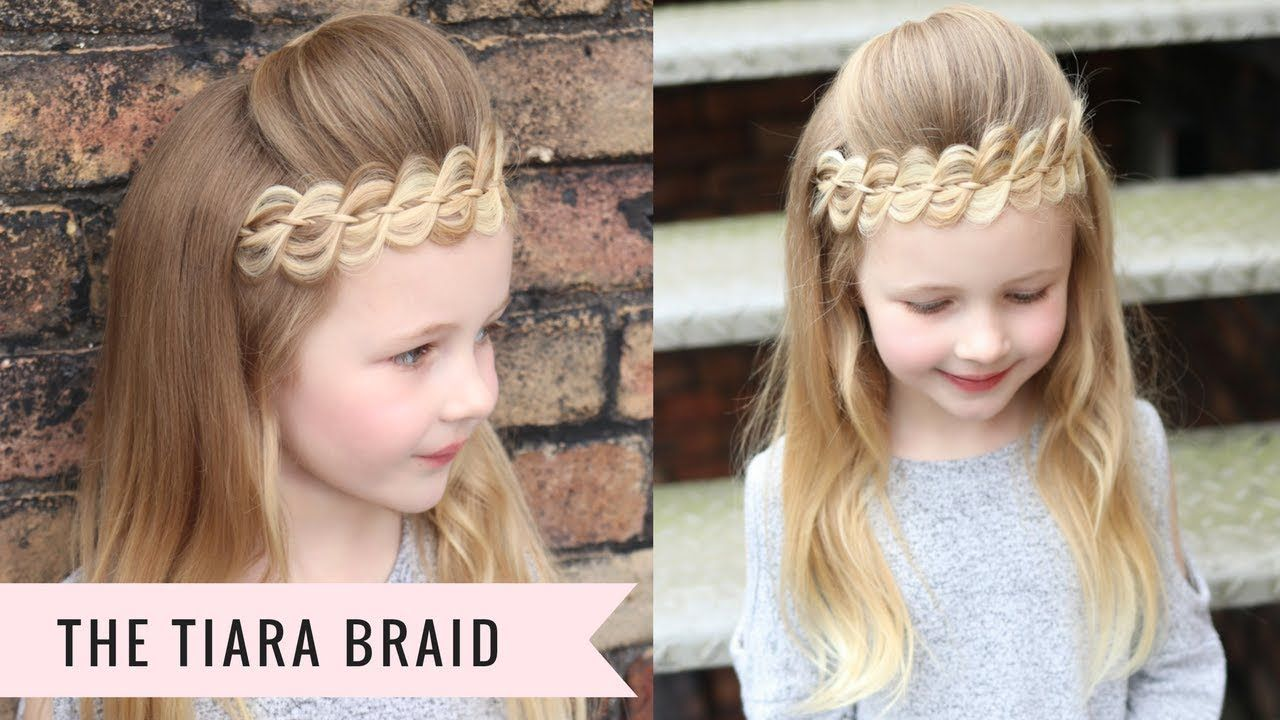 The tiara braid by sweethearts hair youtube hair pinterest