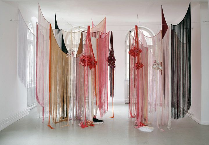 Angelika Arendt  Installation view Kunstverein Wilhelmshöhe Ettlingen, 2008  Polyester, polyurethane foam