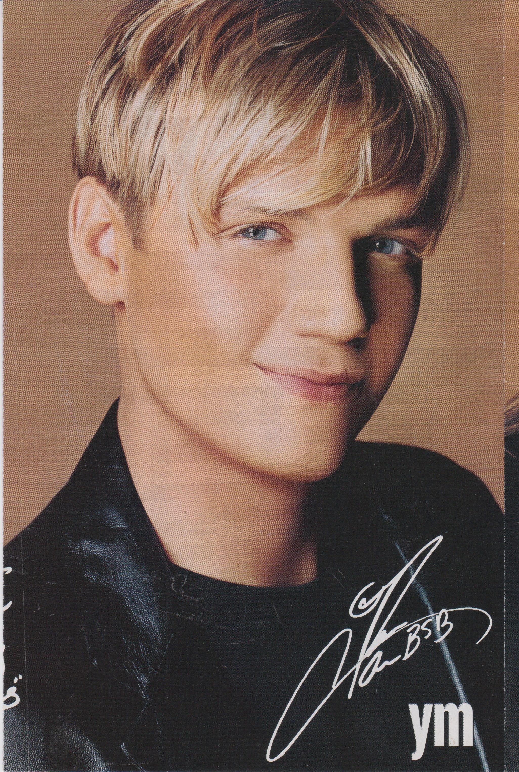 Nick Carter Nick Carter Backstreet Boys Cute Blonde Boys