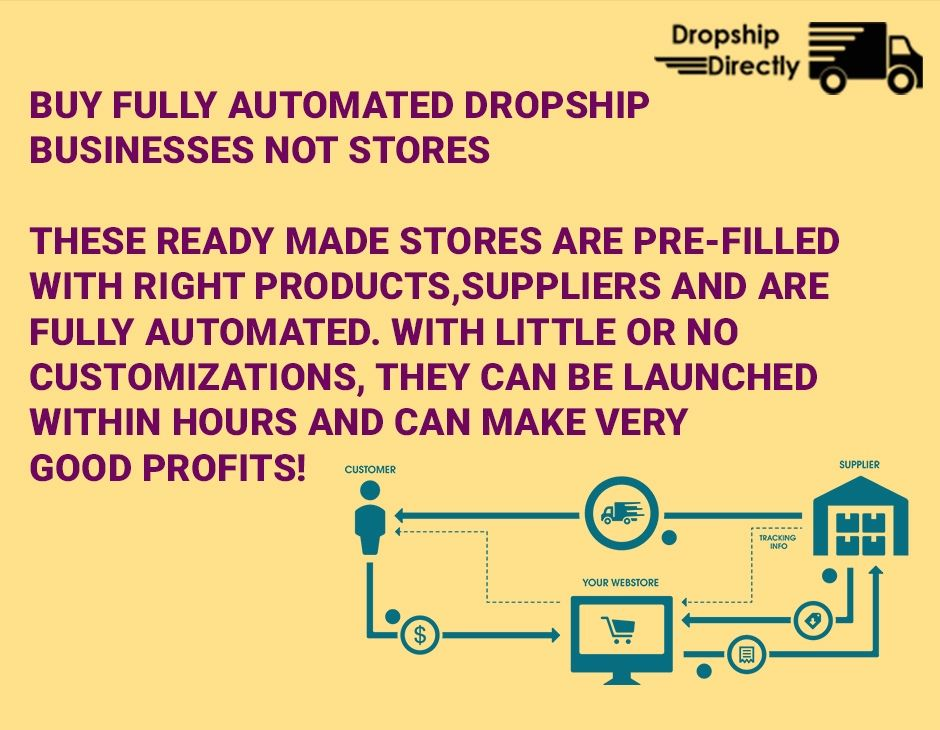 Get fully automated dropship store in your product niche