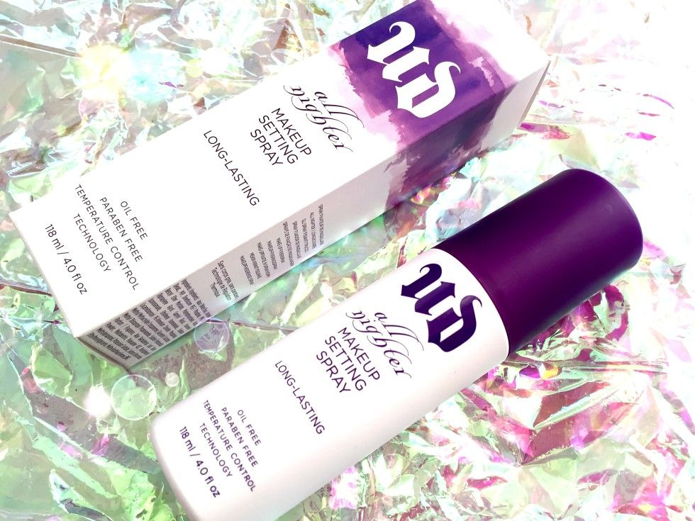 Urban Decay All Nighter Paraben free products, Makeup