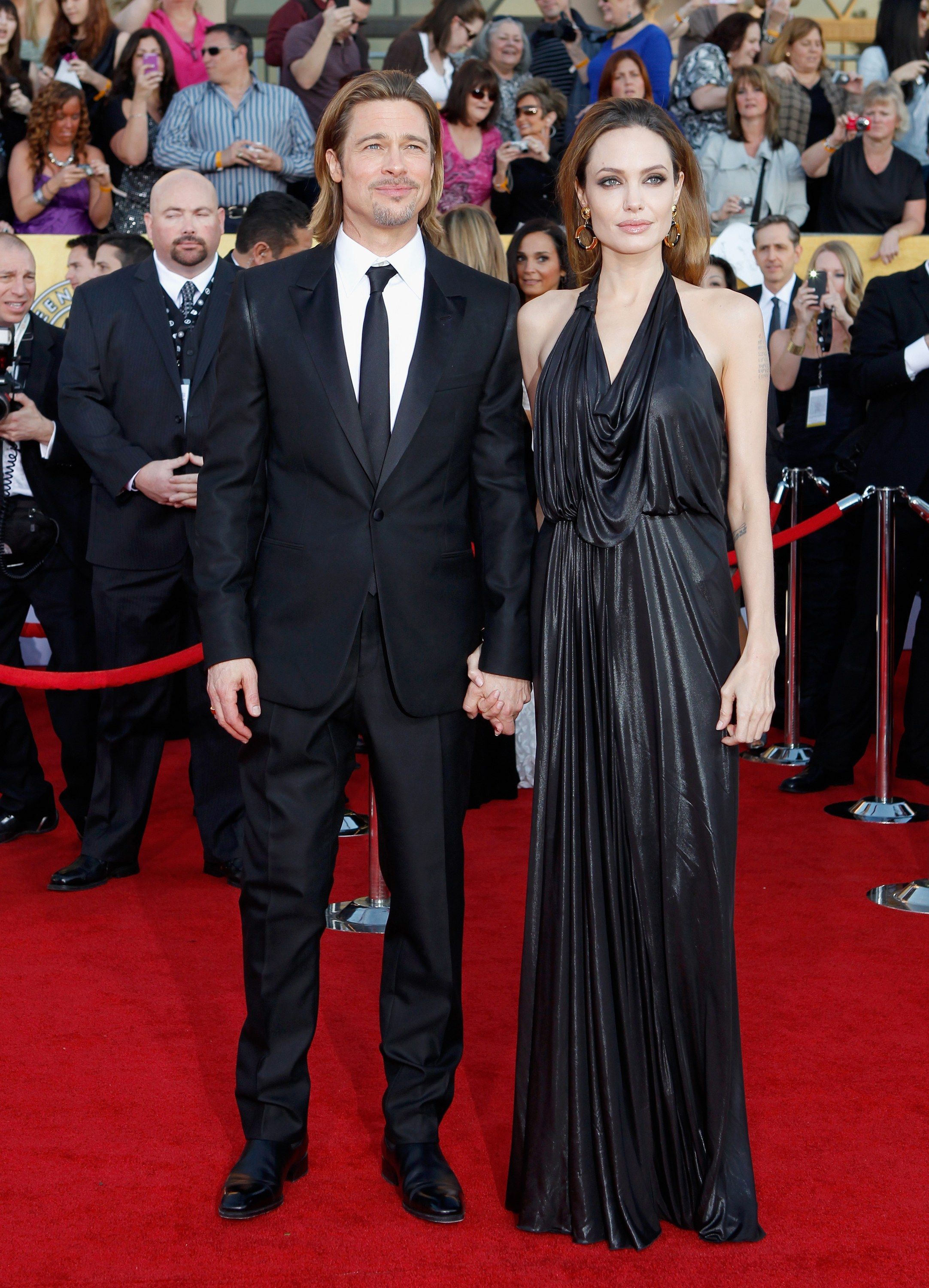 14 Power Couples Who Rocked The Red Carpet At The Sag Awards Celebrity Red Carpet Celebrities Red Carpet Fashion