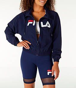 6a7393f33f58 Women s Fila Natalie Full-Zip Wind Jacket