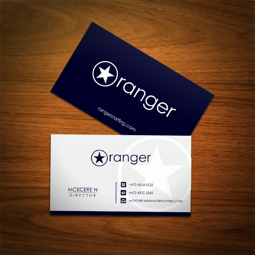 Ranger Or Ranger Technology Headhunting Firm Needs A New Logo Business Card Logo Business Cards Photography Unique Business Cards