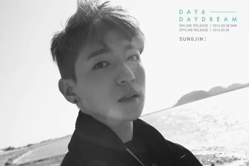 Znalezione obrazy dla zapytania day6 daydream sungjin
