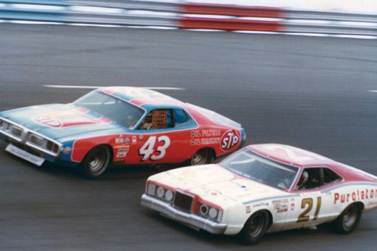 Richard Petty and David Pearson the two Greatest in NASCAR History...